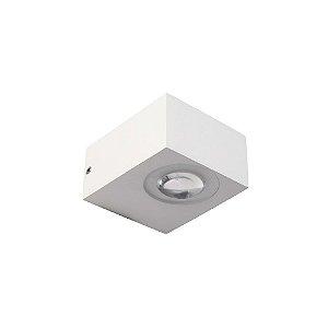 Arandela Nordecor LED 2x3W 3000K (Luz Quente)