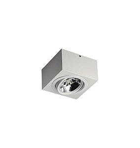Plafon Revoluz Sura Branco para 1 Lâmpada AR111