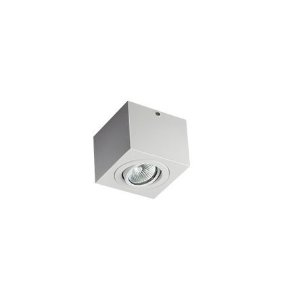 Plafon Revoluz Sura Branco para 1 Lâmpada MR16