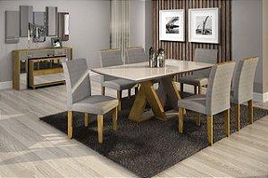 Conjunto Belle - Mesa 6 cadeiras