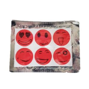 Adesivo Repelente - Kit com 10 Cartelas (60 adesivos)