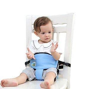 Cadeira de Alimentação Portátil - Cinto De Segurança e Andador Para Bebê