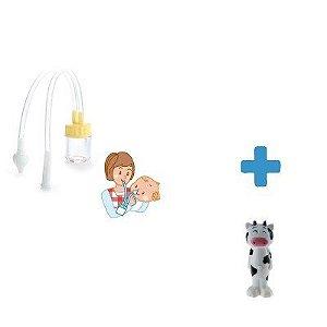 Combo Higiene - Aspirador de Nariz + Escova de Dentes