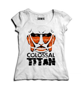Camiseta  Feminina Anime Attack On Titan