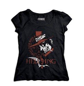 Camiseta  Feminina Anime Hellsing