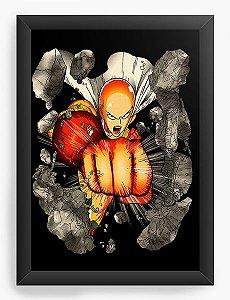 Quadro Decorativo A4(33X24) Anime One Punch-Man