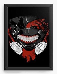 Quadro Decorativo A4(33X24) Anime Tokyo Ghoul