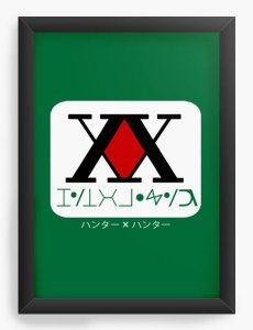 Quadro Decorativo A4(33X24) Anime Hunter x Hunter