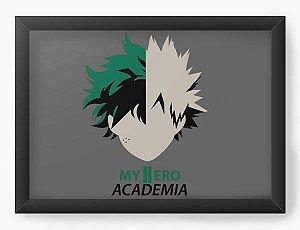 Quadro Decorativo A4(33X24) Anime Boku no Hero Academia