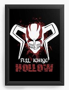 Quadro Decorativo A4(33X24) Anime Full Ichigo Hollow