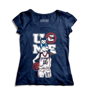 Camiseta  Feminina Anime  Kuroko no Basket