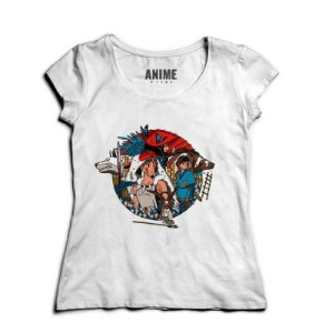 Camiseta  Feminina Anime Mononoke