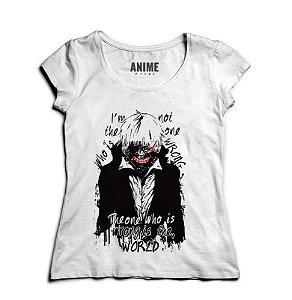 Camiseta  Feminina Anime Tokyo Ghoul