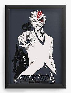 Quadro Decorativo A4(33X24) Anime Bleach Shinigami