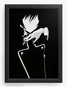 Quadro Decorativo A4(33X24) Anime Code Geass