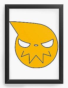 Quadro Decorativo A4(33X24) Anime Logo Soul Eater