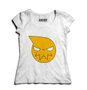 Camiseta  Feminina Anime Logo Soul Eater
