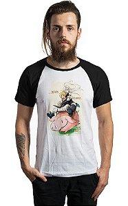 Camiseta Anime Raglan The Seven Deadly Sins