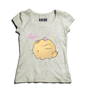 Camiseta  Feminina Anime Poyo