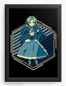 Quadro Decorativo A4(33X24) Anime Death March to the Parallel World Rhapsody