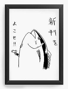 Quadro Decorativo A4(33X24) Anime Ponyo