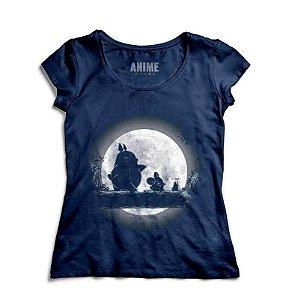 Camiseta  Feminina Anime Totoro Hakuna Matata