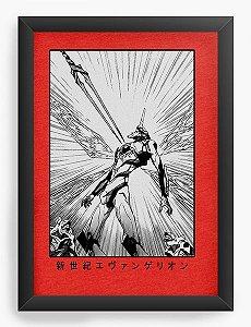 Quadro Decorativo A4(33X24) Anime Neon Genesis Evangelion