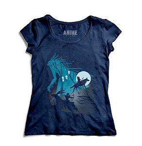 Camiseta  Feminina Anime Princess Mononoke