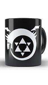 Caneca Anime Fullmetal Alchemist Simbol Magic
