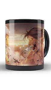 Caneca Anime Attack on Titan