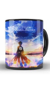 Caneca Anime Attack on Titan Mysterious