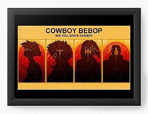 Quadro  Decorativo Anime Cowboy Bebop See you space