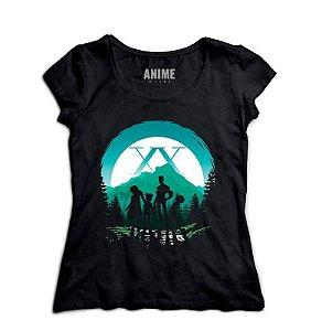 Camiseta  Feminina Anime   Hunter × Hunter Team