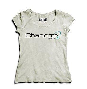 Camiseta  Feminina Anime   Charlotte