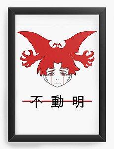 Quadro Decorativo A4(33X24) Anime Devilman Crybaby