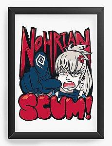 Quadro Decorativo A4(33X24) Anime Fire Emblem - Nohrian Scum