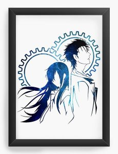 Quadro Decorativo A4(33X24) Anime   Rintaro Okabe