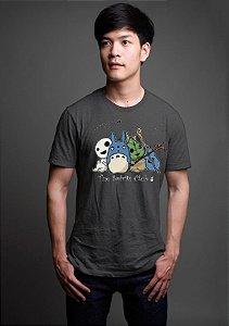 Camiseta Anime Totoro The Spirits Club