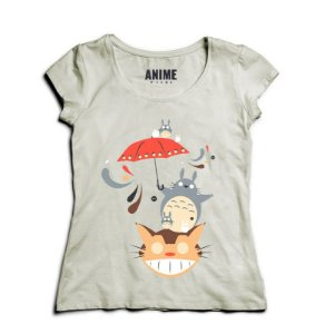 Camiseta Anime Totoro Neighborhood Friends