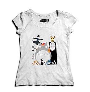 Camiseta Anime Totoro Studio Ghibli Gang