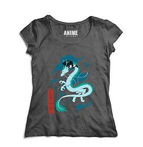 Camiseta Anime Chihiro e Kohaku
