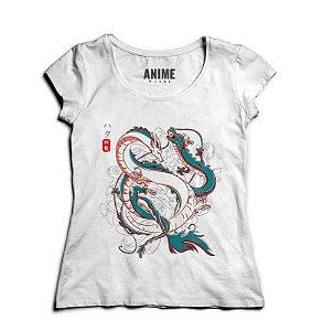 Camiseta Anime Japanese Dragons