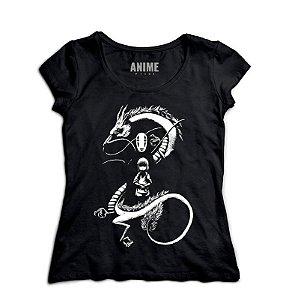 Camiseta Anime Spirited Away A Noir Spirit