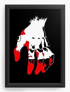 Quadro Decorativo A4(33X24) Anime Neon Genesis Evangelion Hand