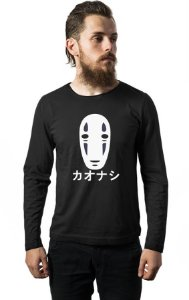 Camiseta Manga Longa Anime No Face