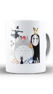 Caneca Anime Totoro Studio Ghibli Gang
