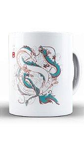 Caneca Anime Japanese Dragons