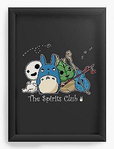 Quadro Decorativo A4(33X24) Anime Totoro The Spirits Club