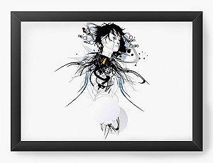 Quadro Decorativo A4(33X24) Anime Ghost In The Shell