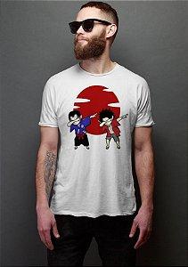 Camiseta Anime Samurai Champloo Mugen x Jin